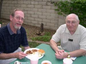 Alan Hunton with Paul Wagner