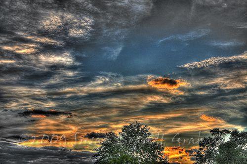 Sunset July 27 2009