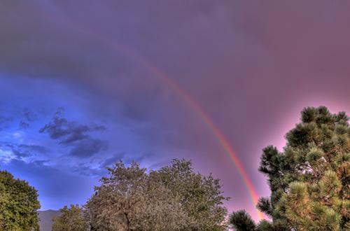 rainbow september 4 2009