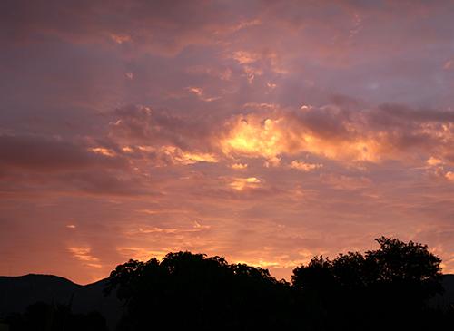 sunrise 9/6/09