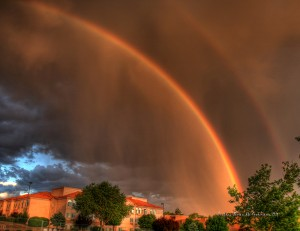 Sky Light - Albuquerque Double Rainbow