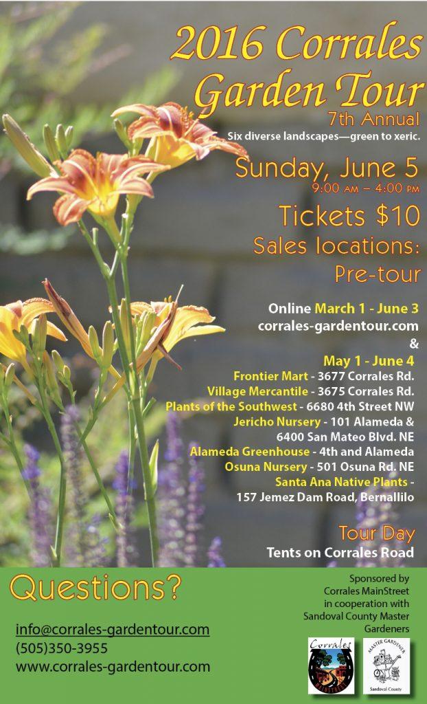 2016 Corrales Garden Tour